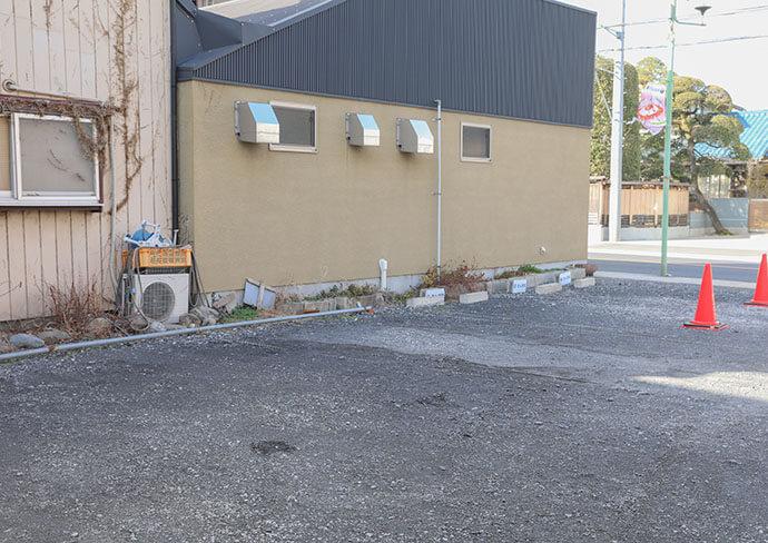 はんのう駅前通り整骨院・整体院の駐車場