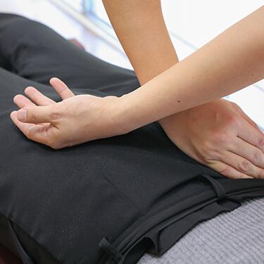 はんのう駅前通り整骨院・整体院腰痛へのアプローチ